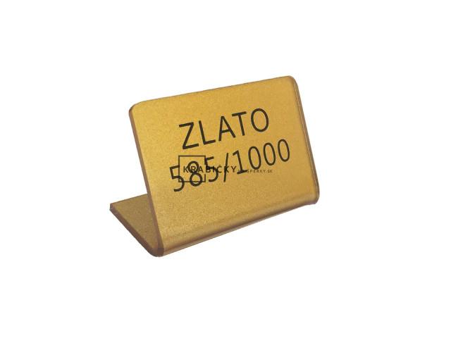 3e7f68eeb Lacné stojanky s označením zlata   JK Box SK s.r.o.